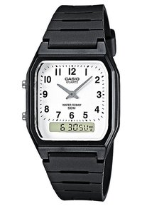 Casio - Klokke - schwarz - 0