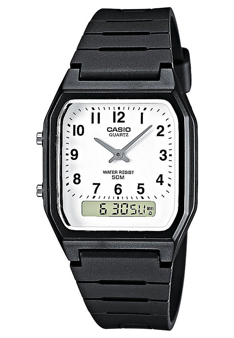 Casio - Klokke - schwarz