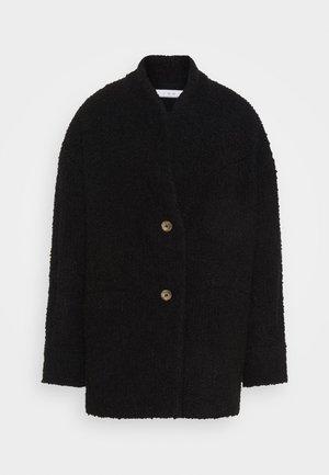 OKEN - Krátký kabát - black