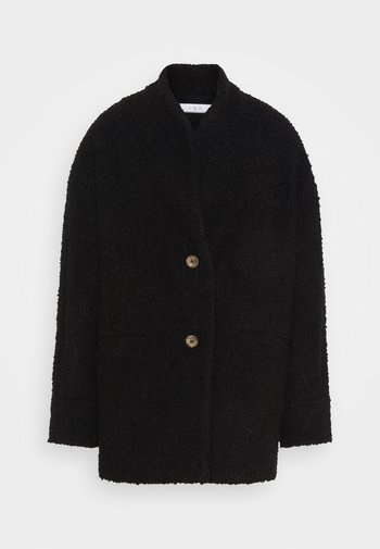 OKEN - Short coat - black