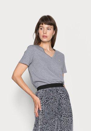 SMALL V NECK  - Basic T-shirt - grey