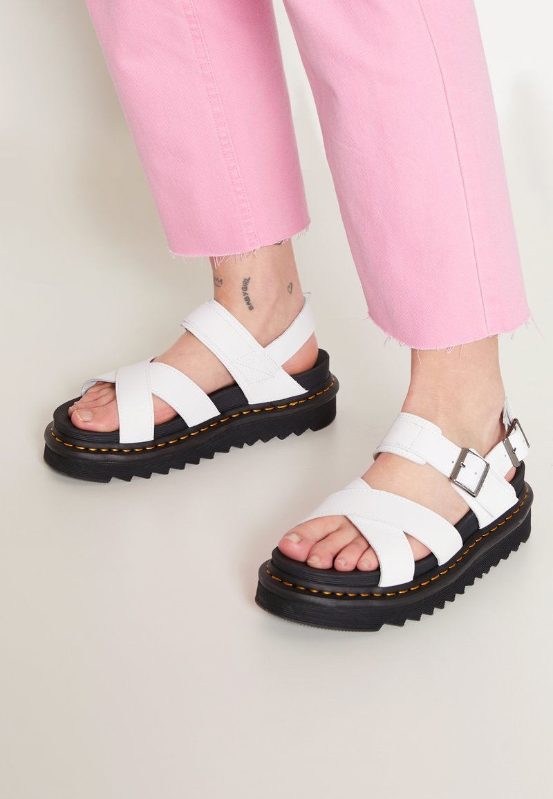 Dr. Martens - VOSS - Platform sandals - white hydro
