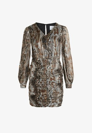 Cocktail dress / Party dress - brown