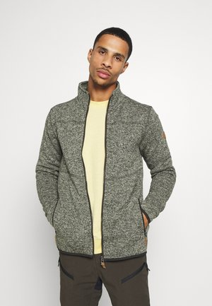 ALBERTON - Fleece jacket - green