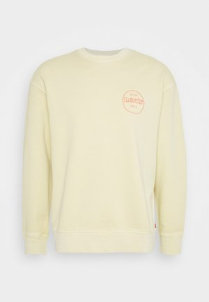 RELAXED GRAPHIC CREW - Sweater - yellows/oranges