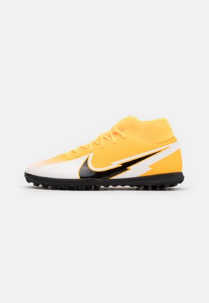 MERCURIAL 7 CLUB TF - Astro turf trainers - laser orange/black/white