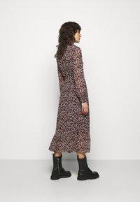 MICHAEL Michael Kors - DAINTY BLOOM WRAP - Day dress - dark ruby - 2