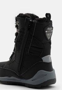 Kappa - ALIDO TEX UNISEX - Winter boots - black/grey - 5