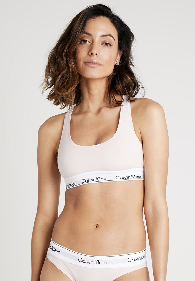 Calvin Klein Underwear - MODERN BRALETTE - Bustier - nude