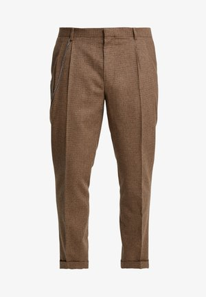 TURN-UP  - Pantalon classique - brown