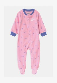 Nike Sportswear - FOOTED COVERALL - Sleep suit - pink - 0