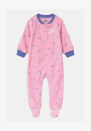 FOOTED COVERALL - Strampler - pink
