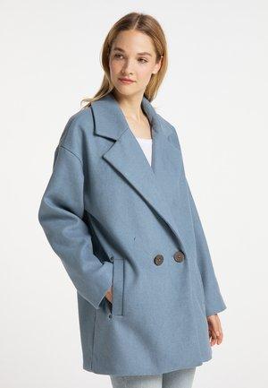 Halflange jas - graublau
