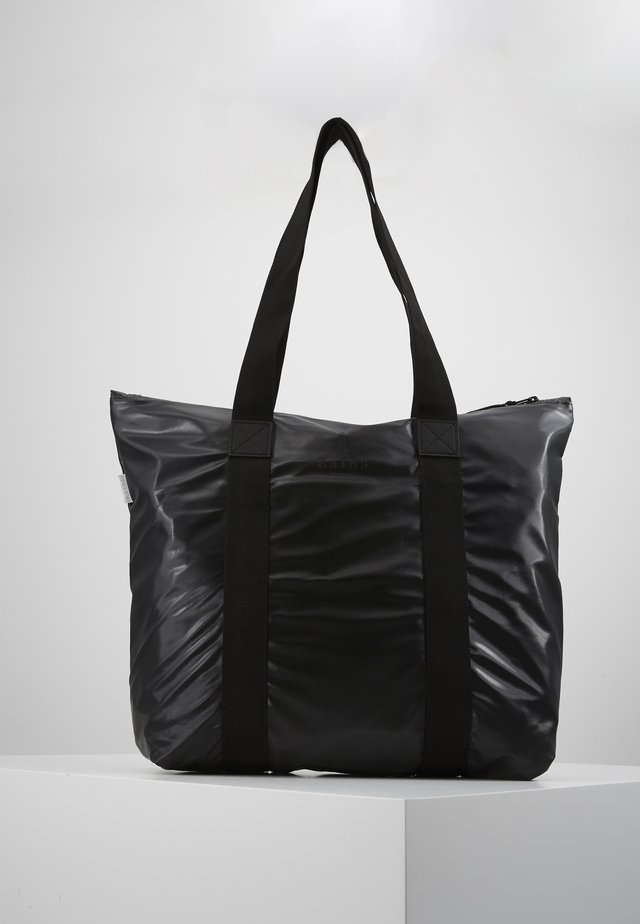TOTE BAG RUSH - Shopping bag - shiny black