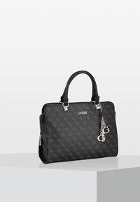 Guess - CAMY HANDTASCHE - Handbag - black - 1