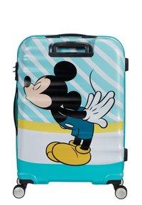 American Tourister - WAVEBREAKER DISNEY - Wheeled suitcase - mickey blue kiss - 1
