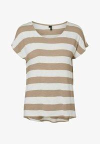 Vero Moda - Camiseta estampada - beige - 0