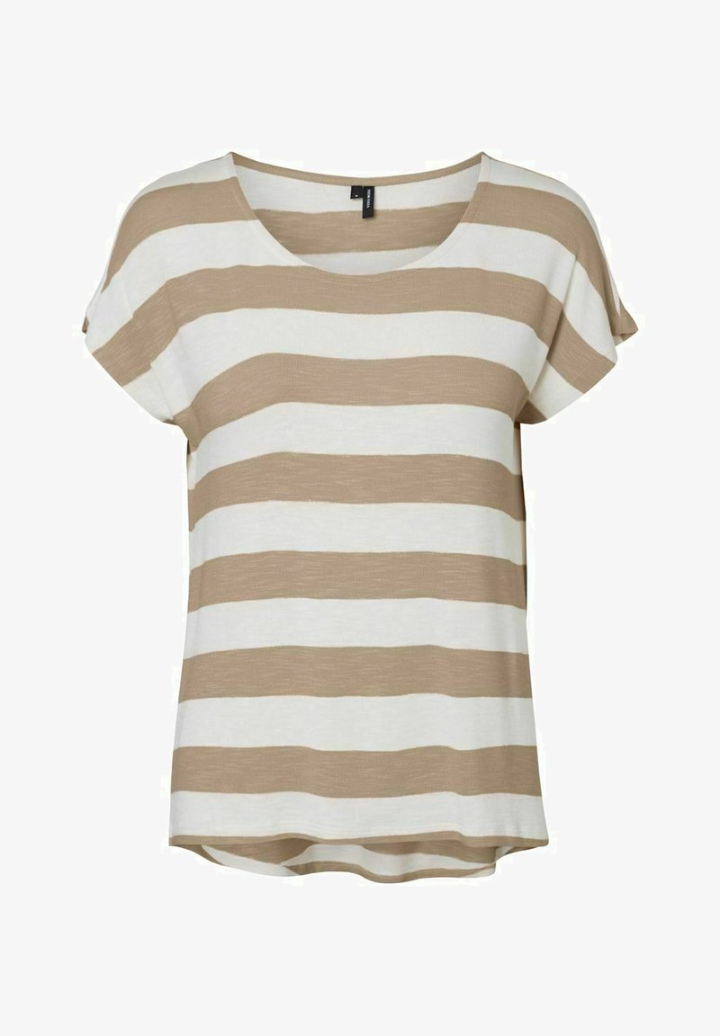 Vero Moda - Camiseta estampada - beige