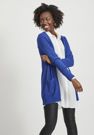 VIRIL OPEN CARDIGAN - Cardigan - mazarine blue