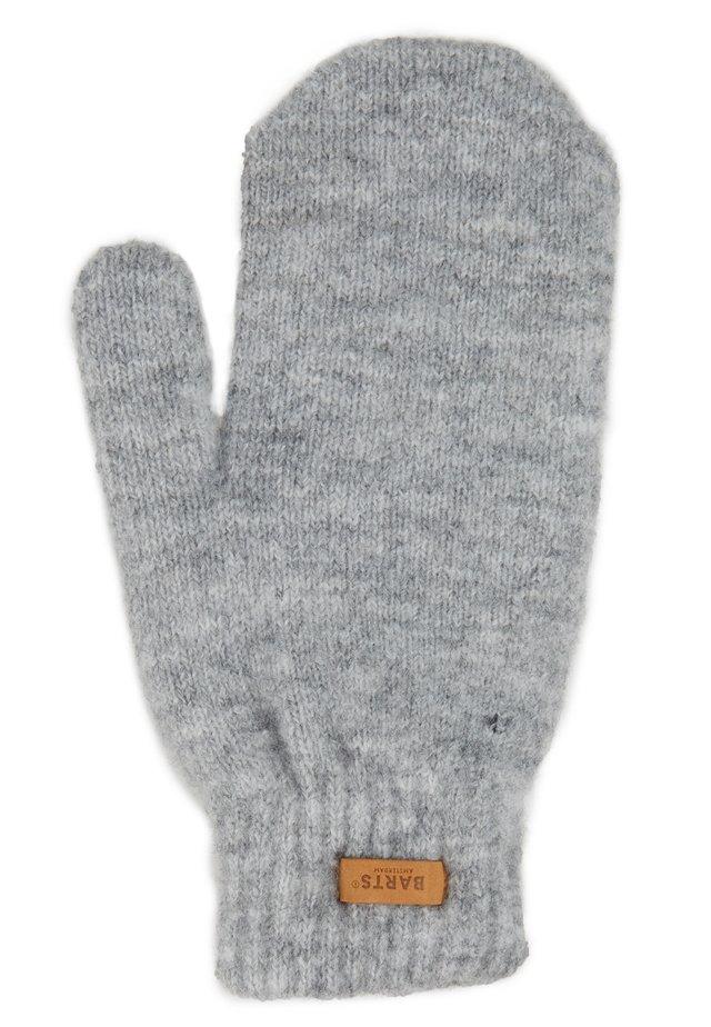 WITZIA MITTS - Mittens - heather grey