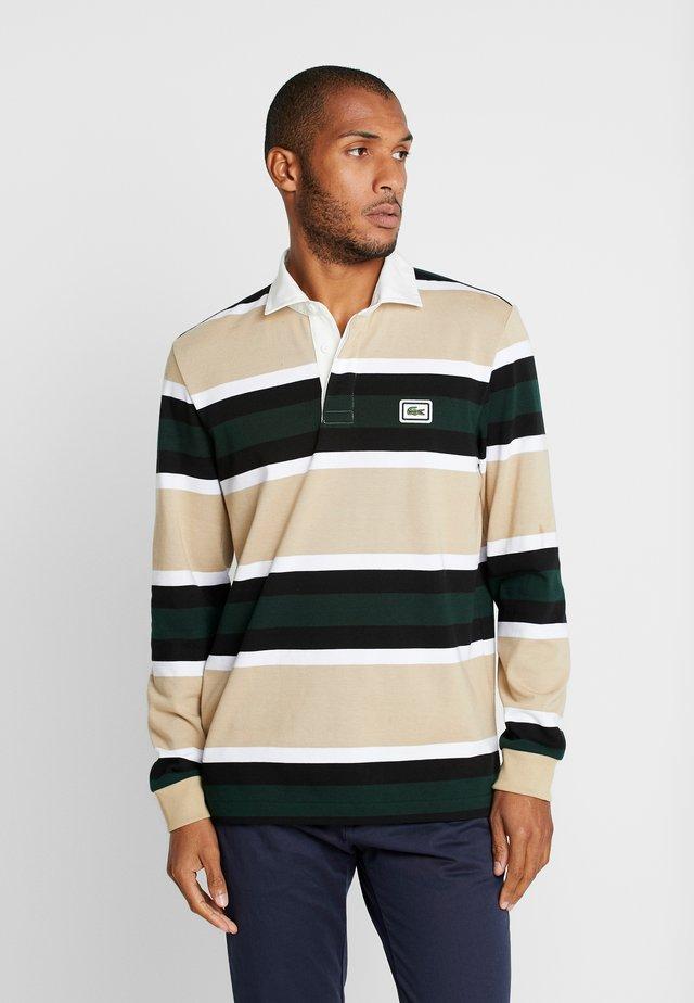 Polo shirt - viennese/white/black/sinople