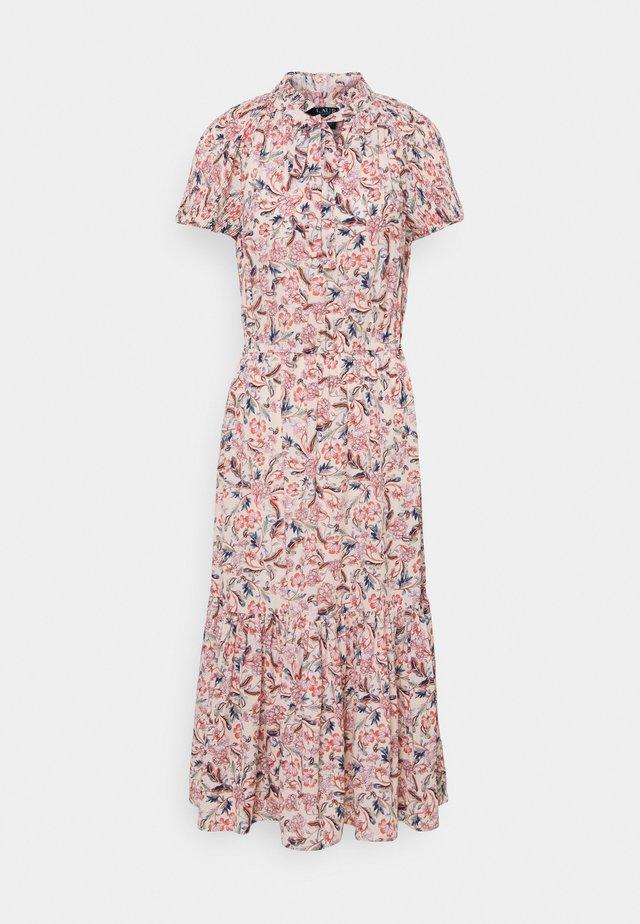 DRAPEY DRESS - Vestito lungo - pink multi