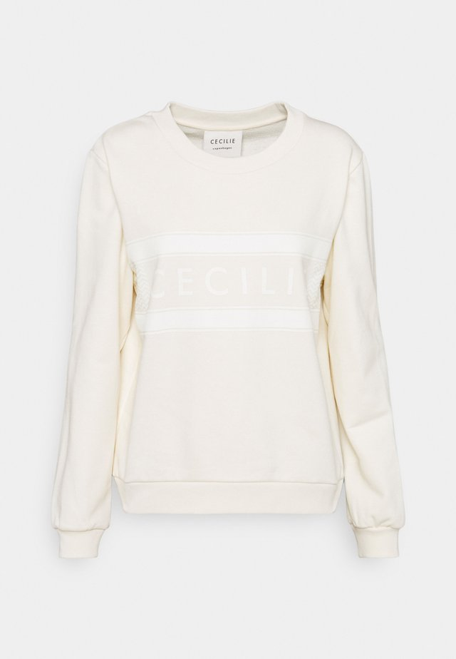 MANILA - Sweatshirt - whisper white