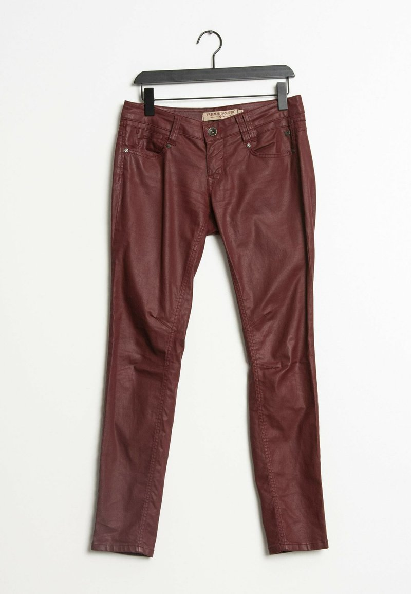 Freeman T. Porter - Trousers - red