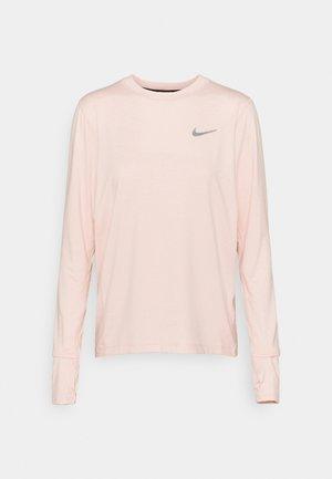 ELEMENT CREW - T-shirt de sport - pale coral/light soft pink/heather