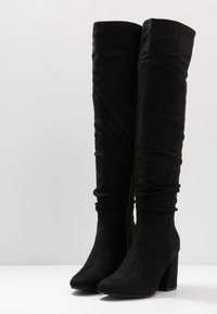 New Look - DELIGHT - High heeled boots - black - 4