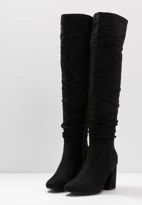 New Look - DELIGHT - Laarzen met hoge hak - black - 4