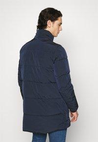 Calvin Klein - CRINKLE LONG LENGTH JACKET - Winter coat - blue - 3