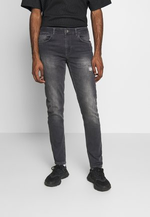 STOCKHOLM DESTROY - Jeans Skinny Fit - mid grey