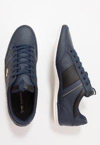 Lacoste - CHAYMON - Sneakersy niskie - navy/black - 1