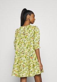 Monki - MILLIE DRESS - Day dress - grassy - 2