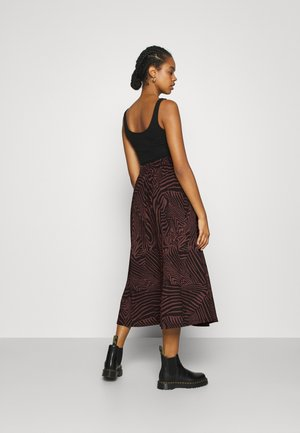 ONLZILLE SKIRT - Maxi skirt - port royale/upscale