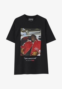 PULL&BEAR - THE NOTORIOUS BIG  - T-shirt con stampa - black - 8