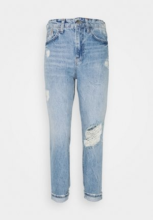 CARRIE CAPRISL - Relaxed fit jeans - light auth