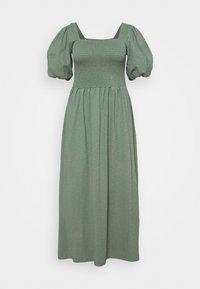Vero Moda Curve - VMALINA ANKLE SMOCK DRESS  - Maxi dress - laurel wreath - 0