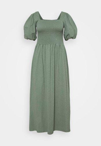 VMALINA ANKLE SMOCK DRESS  - Maxi dress - laurel wreath