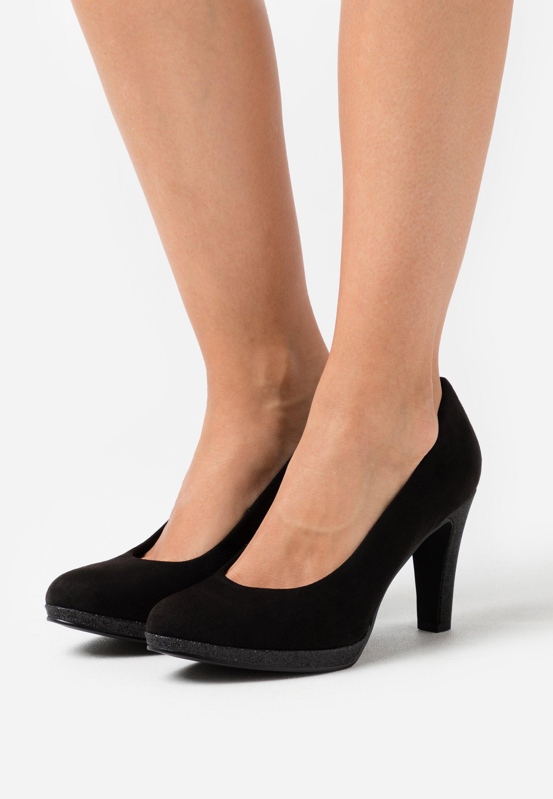 Femme COURT SHOE - Escarpins à talons hauts - black