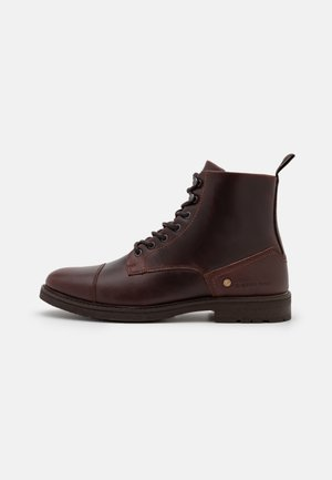 VACUM II HGH LEA M - Lace-up ankle boots - brown