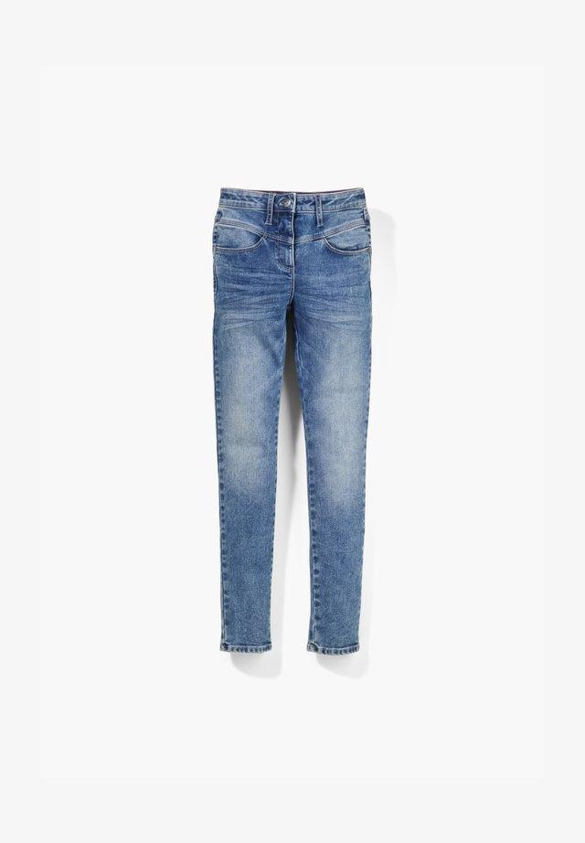 HIGH WAIST - Slim fit jeans - blue