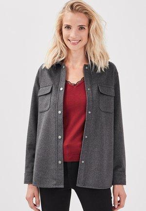 MIT REVERSKRAGEN - Summer jacket - gris foncé