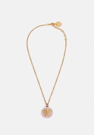 COLLANA MEDUSA VERNICIATO - Necklace - rosegold-coloured/oro