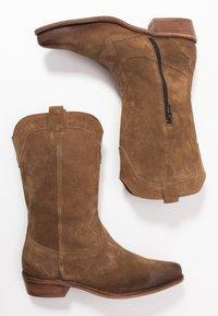 Felmini Wide Fit - GERBBERA - Cowboy/Biker boots - momma - 3