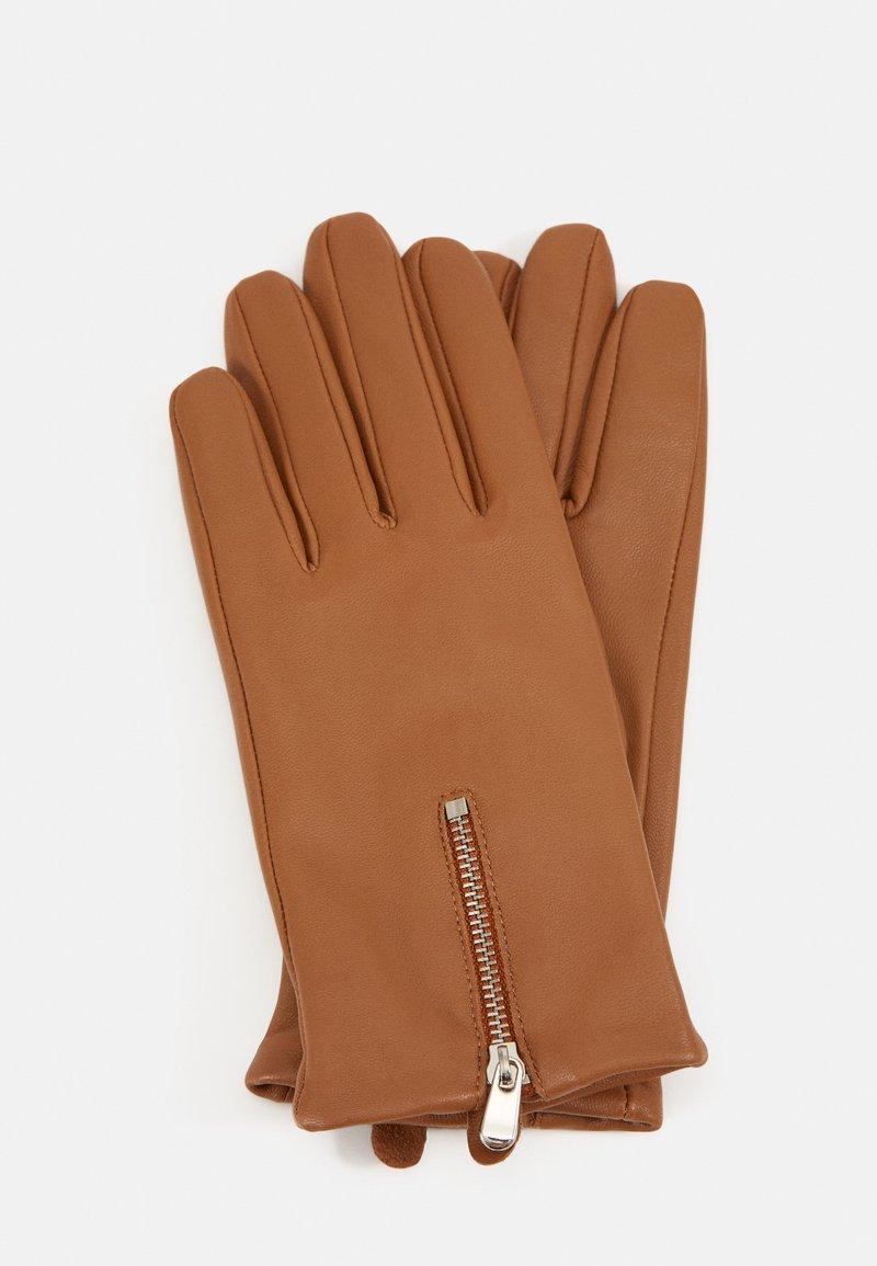 Opus - AZIPPA GLOVES - Gloves - peanut