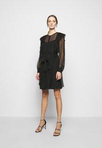 Alberta Ferretti - ABITO - Cocktail dress / Party dress - black - 0