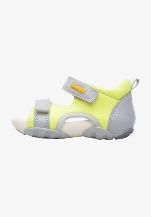 OUS  - Walking sandals - neon yellow