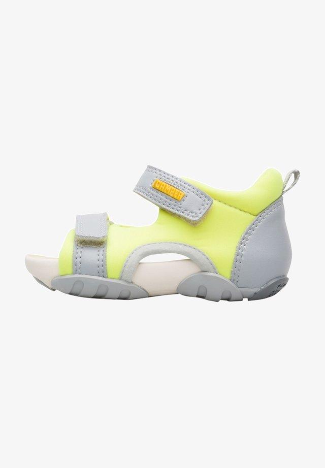 OUS  - Sandały trekkingowe - neon yellow